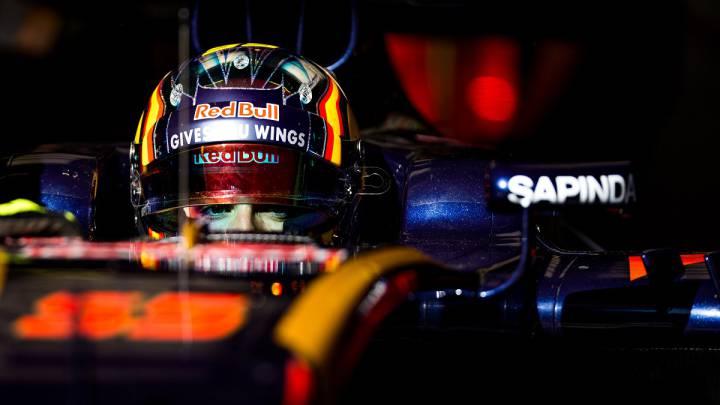 Carlos Sainz en el Toro Rosso.