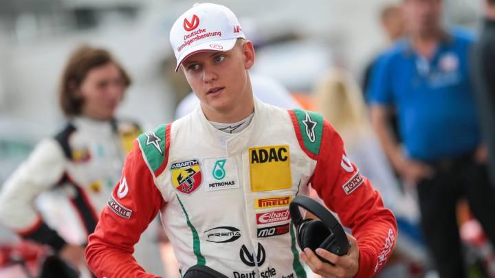 Mick Schumacher, hijo de Michael.