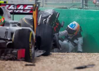El golpe de Alonso en Australia: la FIA lo simula con el Halo
