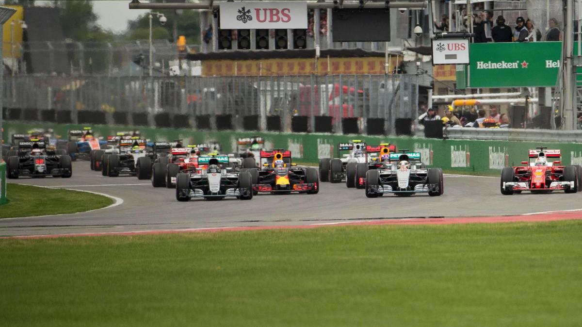 Parrilla de la Fórmula 1 2017. Equipos y pilotos confirmados.