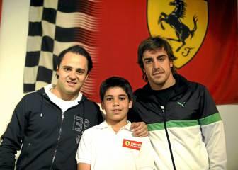 Massa-Stroll: 17 años y 184 días separan a la pareja de Williams