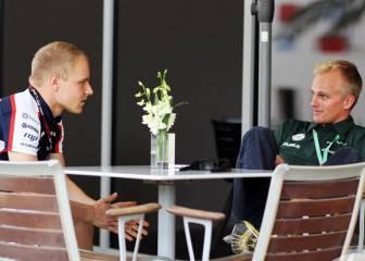 Kovalainen optó a Williams y apoya el dúo Bottas-Hamilton