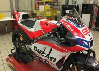 Se filtra la Ducati de Lorenzo