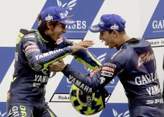 Así le fue a Rossi contra sus cinco compañeros en MotoGP