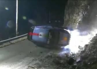 Fuerte accidente de Paddon que atropella a un espectador