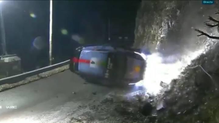 Espectacular accidente de Paddon en Montecarlo
