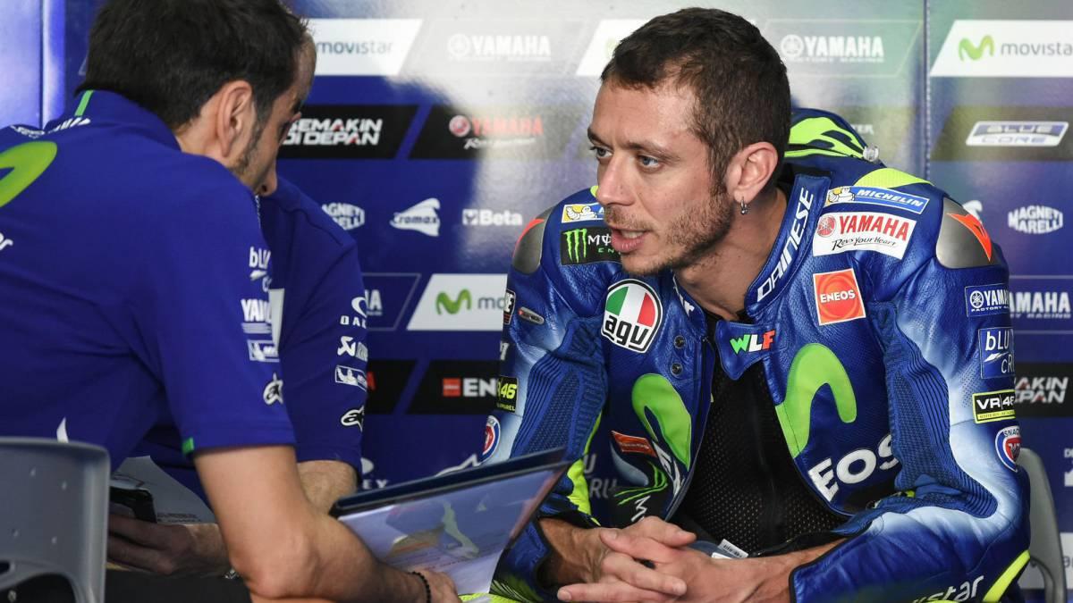 Valentino Rossi acabó sexto en el test de Sepang de MotoGP que dominó Maverick Viñales
