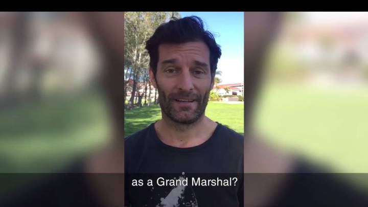 Mark Webber será el \'Grand Marshal\' de Le Mans 2017