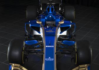 Sauber unveil 2017 car
