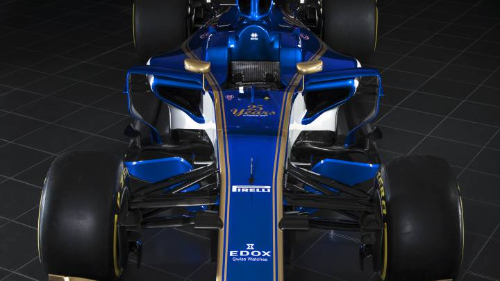 Sauber C36: F1 team unveil new car for 2017 season