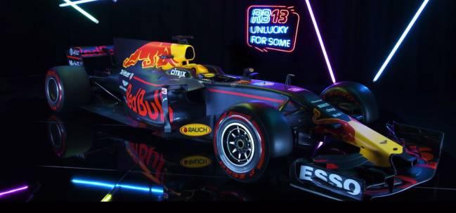 El nuevo Red Bull RB13