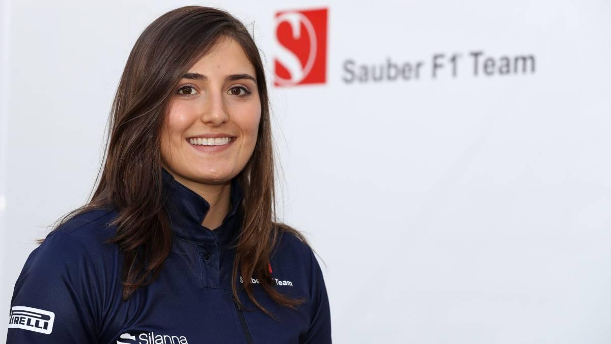 Tatiana Calderón, nueva piloto de desarrollo de Sauber.