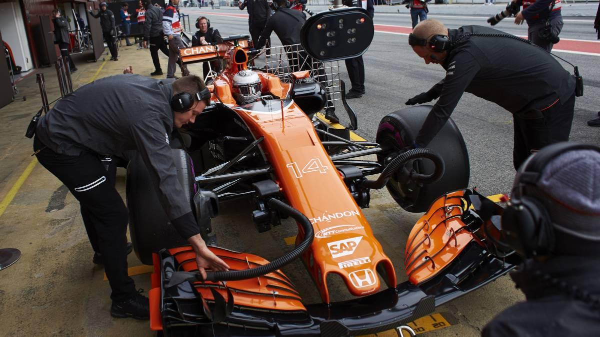 """McLaren: """"El chasis del MCL32 es bastante bueno, realmente"""""""
