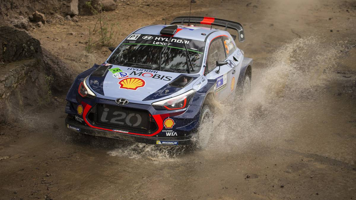 Resultado de imagen para Thierry Neuville Rally de México 2017