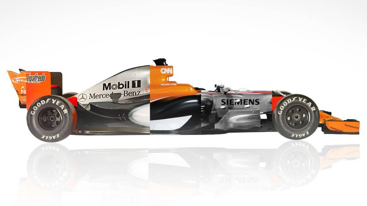 McLaren le hace un guiño a Mercedes en su página web
