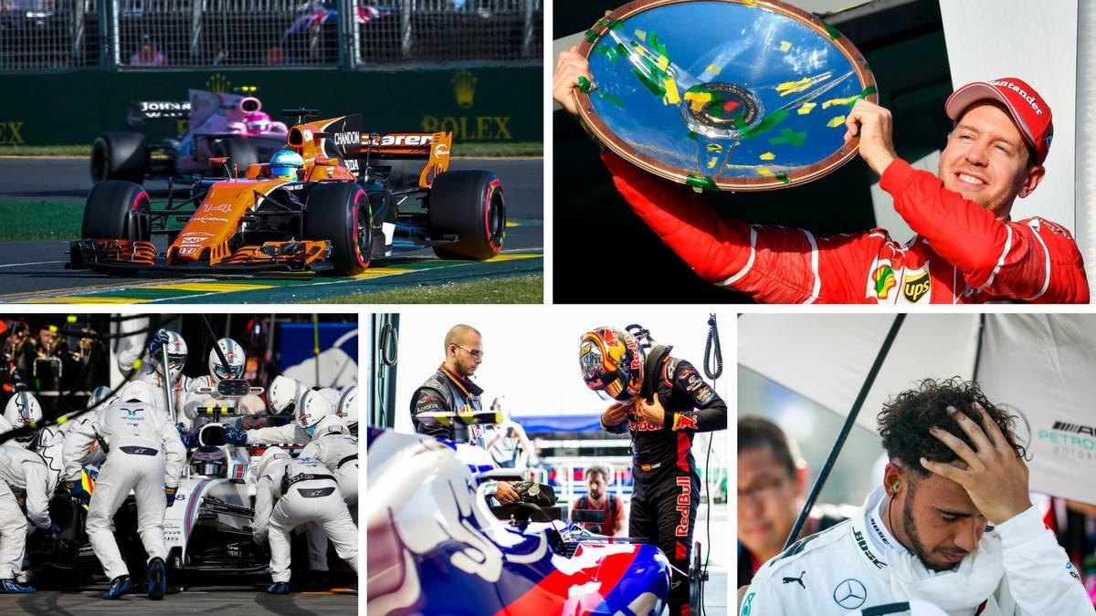 Las cinco conclusiones del GP de Australia: Alonso, Ferrari...