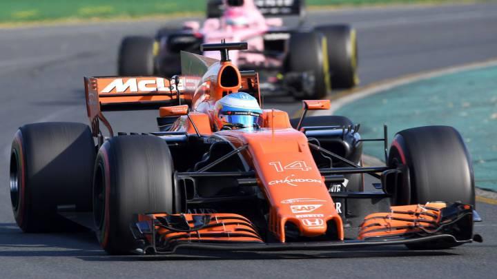 McLaren contradice a Alonso: fallo en el conducto del freno