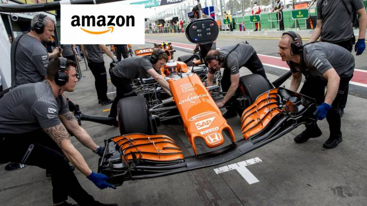 Amazon graba una serie documental de McLaren.