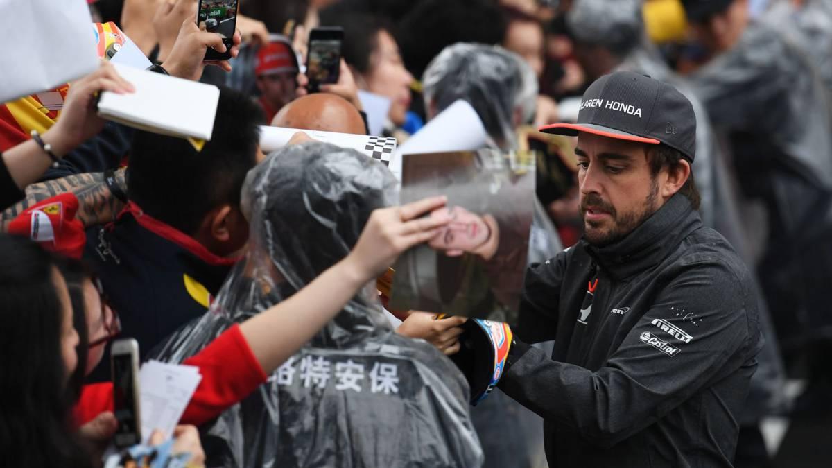 """Alonso: """"Prefiero estar aquí que en el supermercado"""""""