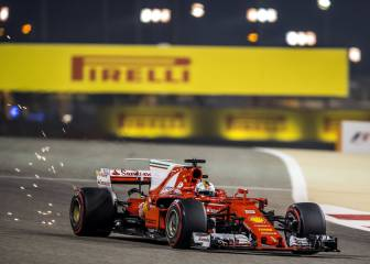 Vettel wins Bahrain Grand Prix ahead of Hamilton