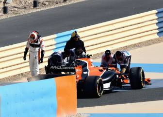 Vandoorne out of the Bahrain GP... before the start