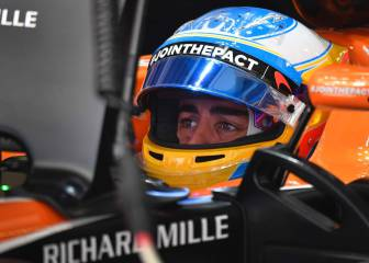 Fernando Alonso out of Russian GP before race starts