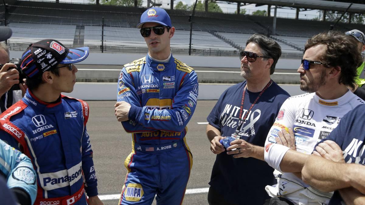 Alonso Indy 500
