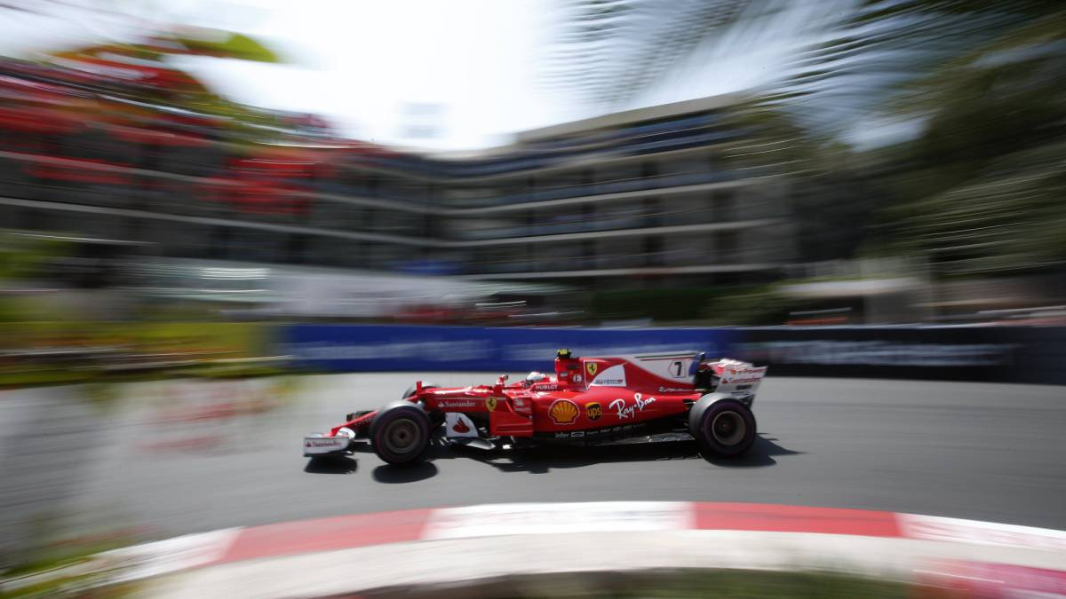 Kimi Raikkonen en Loewe, Mónaco.