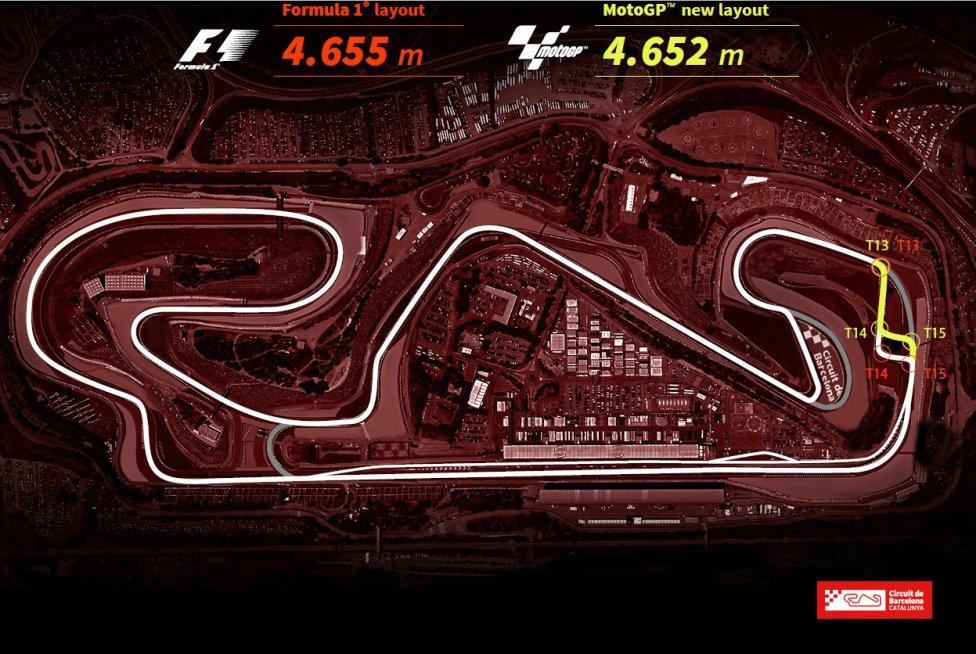El accidente mortal de Luis Salom en 2016 ha hecho que se modifique el trazado del GP de Catalunya para que haya mayor seguridad en el tramo en el que se produjo el accidente.
