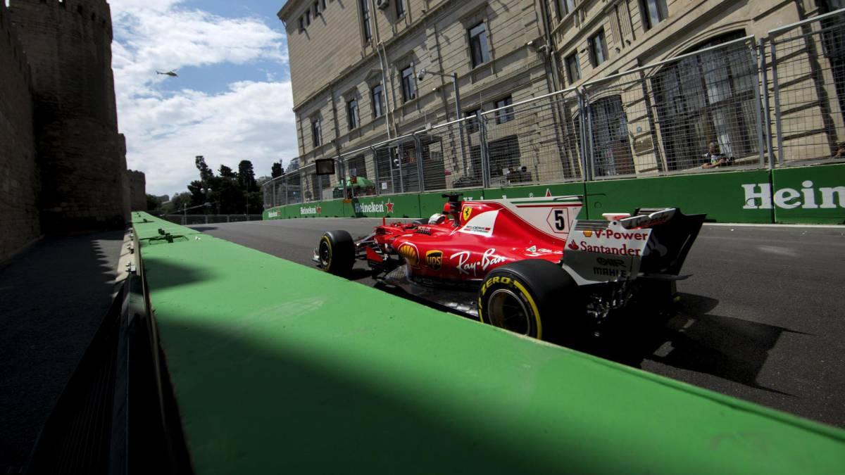 Resumen de la Clasificación GP de Azerbaiyán: pole de Hamilton ...