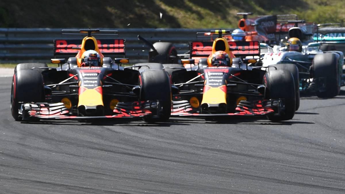 Ricciardo dice que Verstappen ya le ofreció disculpas