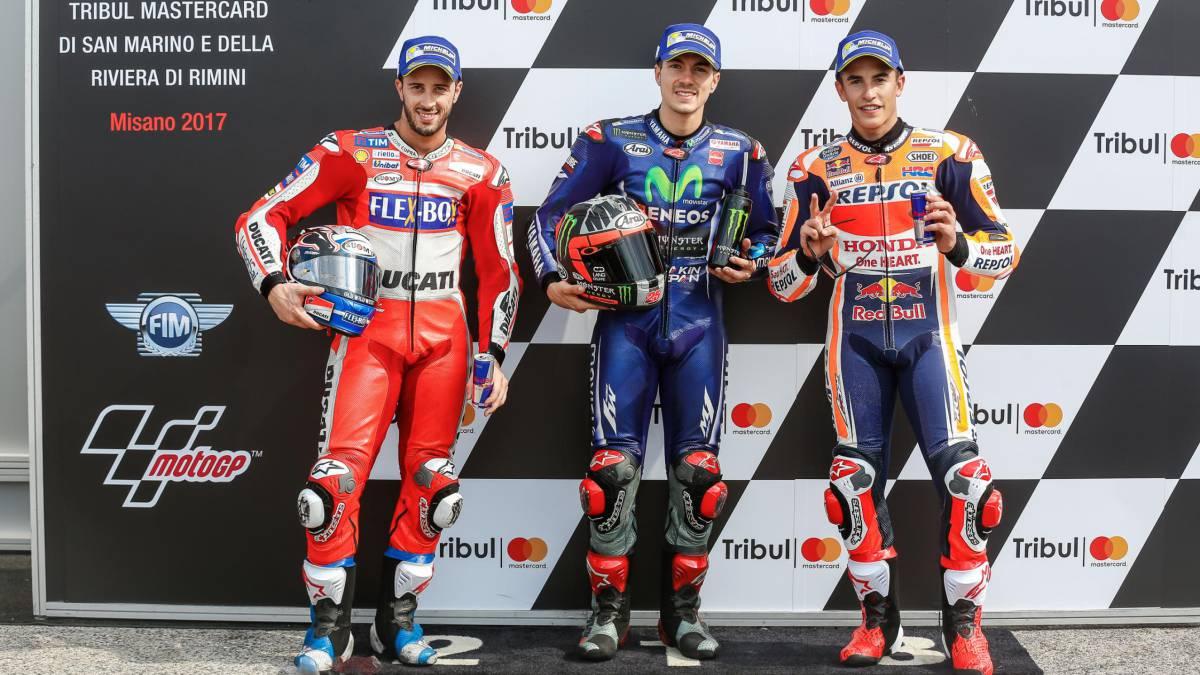 Márquez domina los ensayos libres en San Marino