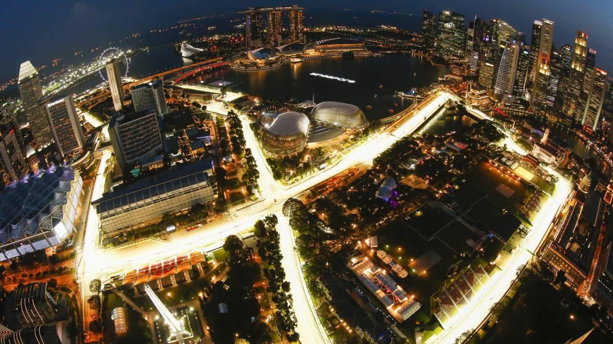 Circuito F1 Singapur : F crashgate crisis espontáneos lagartos años de