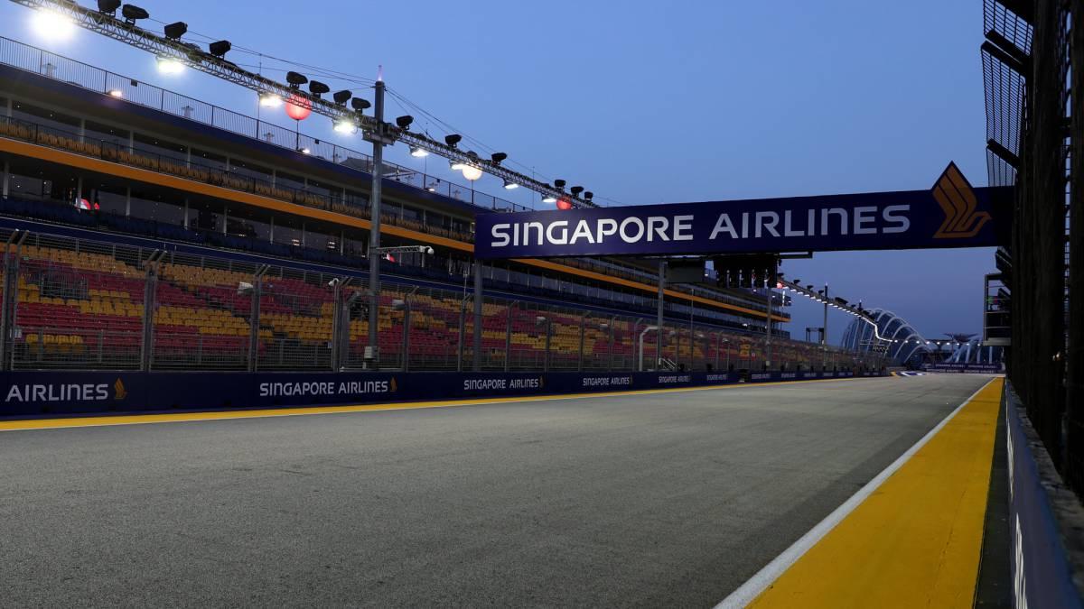 Circuito Singapur : Fórmula 1 el gp de singapur seguirá en el mundial de f1 hasta el