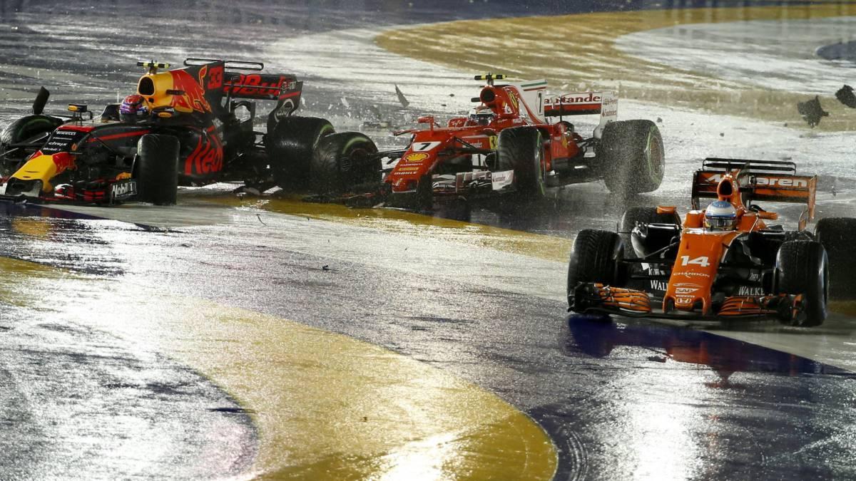 Gran Premio de Singapur continúa en calendario de Fórmula Uno