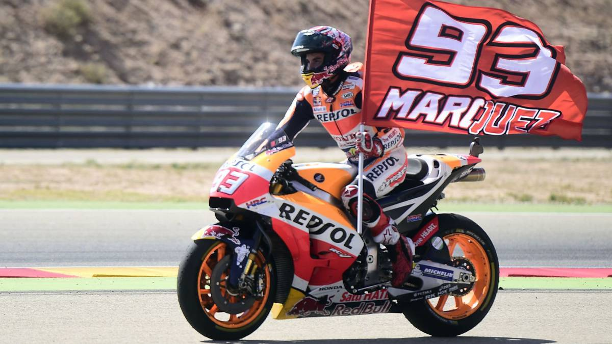 Marquez stretches lead as Rossi finishes fifth