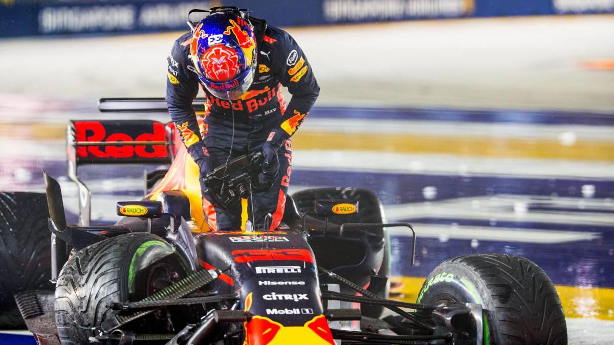 Fórmula 1: Max Verstappen dominó bajo la lluvia
