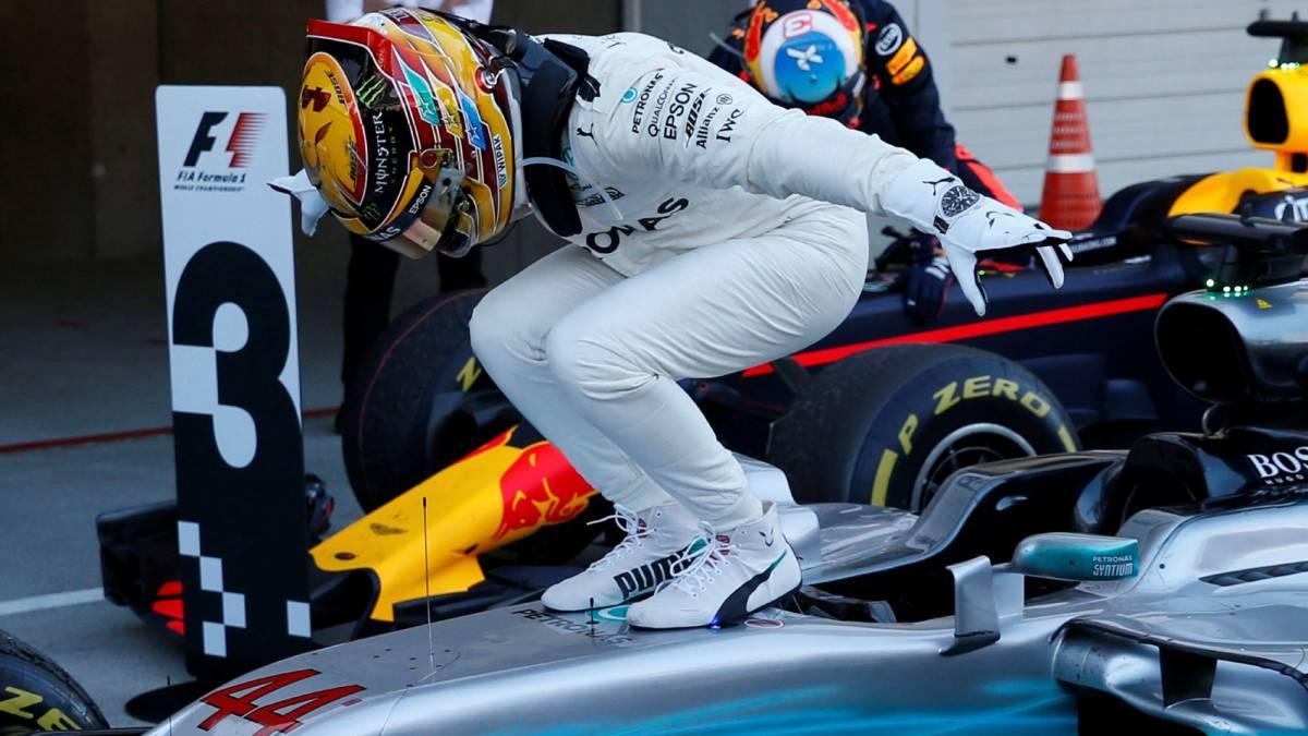F1 | Hamilton gana, Vettel abandona y Checo séptimo - AS USA
