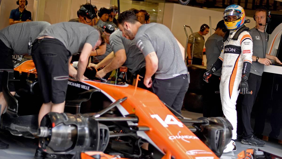 Fernando Alonso se quedará en McLaren en 2018
