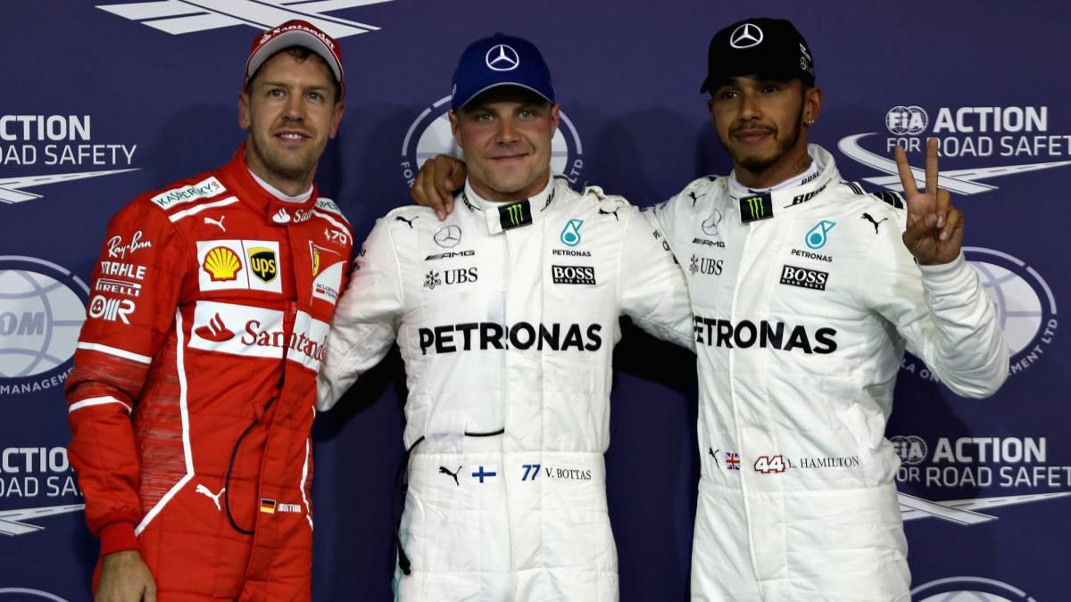 Vettel delante de Hamilton en primer libre; Pérez, sexto