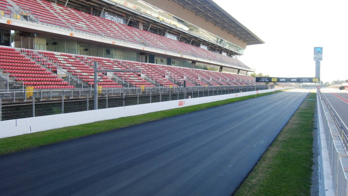 Circuito Montmelo : Fórmula 1 pirelli explica cómo afectará el reasfaltado de montmeló