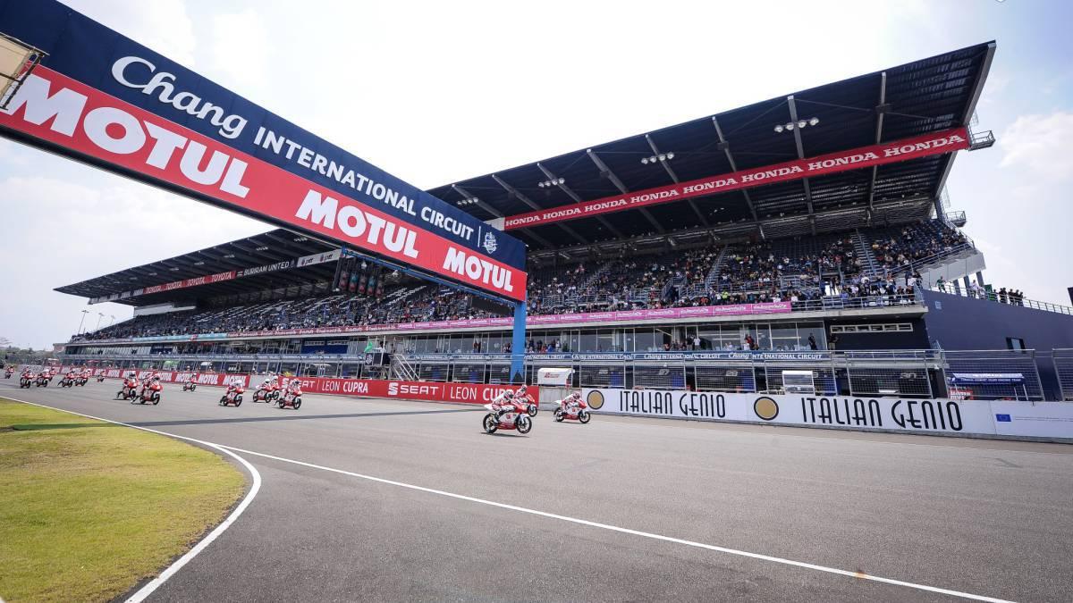 Circuito Que Es : Motociclismo motogp llega a tailandia el circuito que u ces sólo