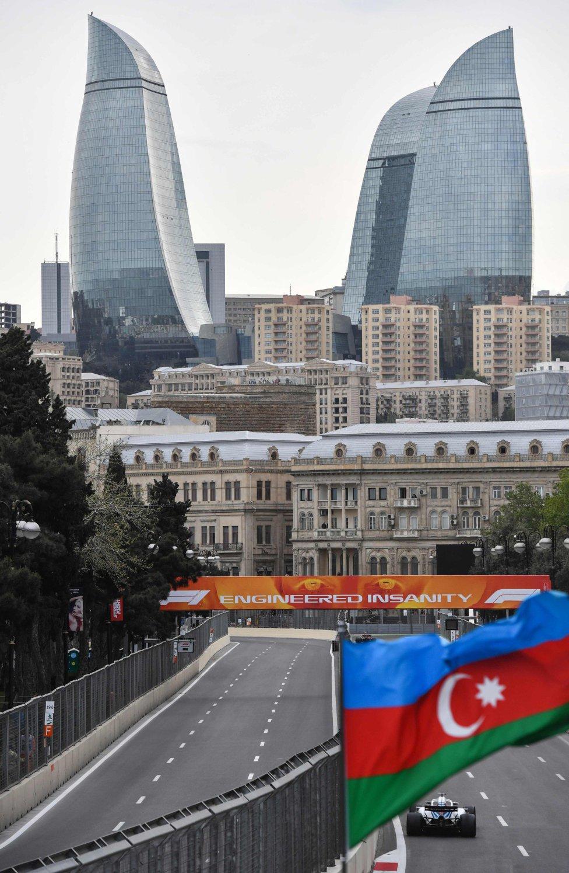 Circuito Urbano De Baku : La curva más estrecha del campeonato del mundo competición
