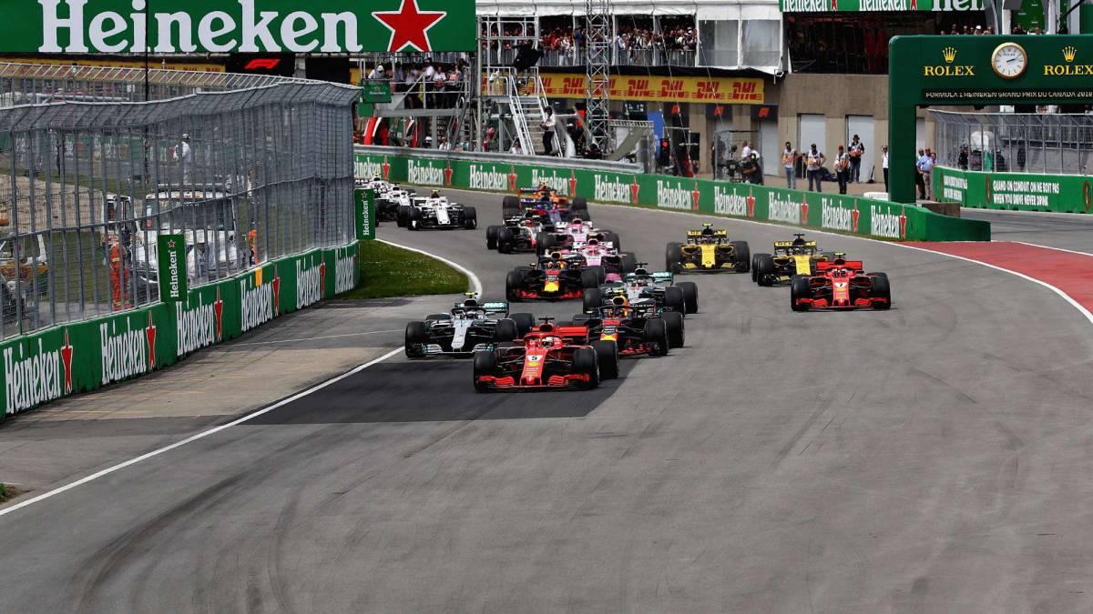 Resumen del GP de Canadá de F1: triunfo plácido para Vettel - AS.com