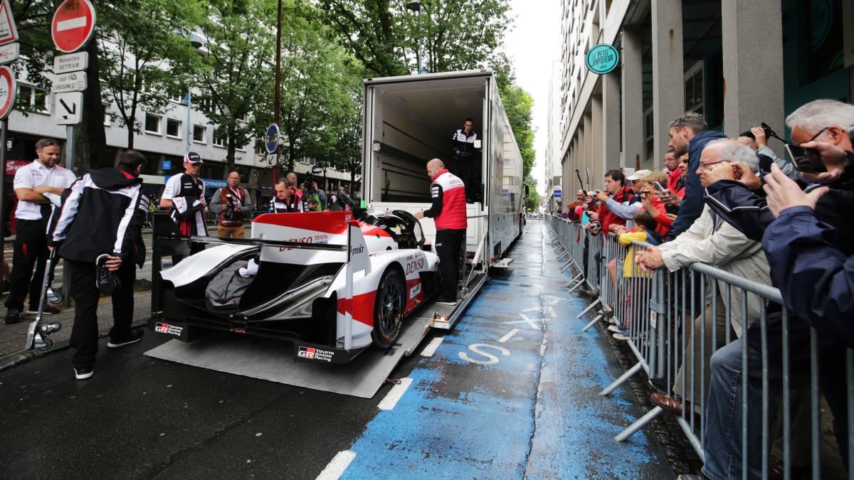 Así ha construido Toyota la bestia de Alonso para Le Mans
