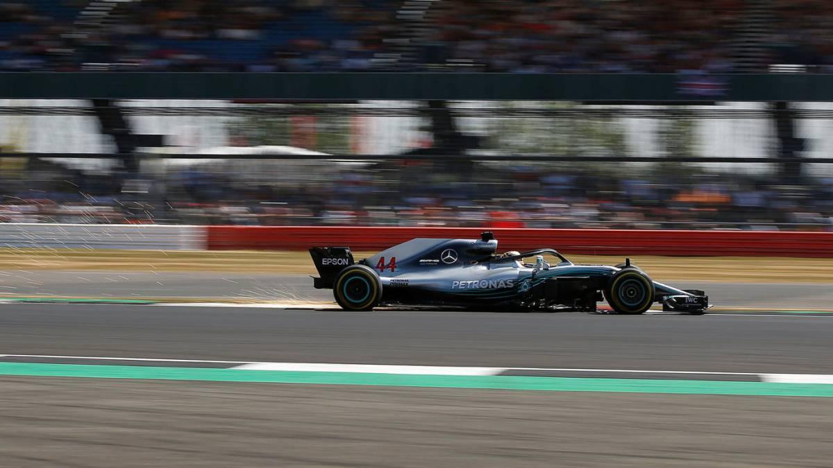 Circuito De Silverstone : F1 resumen de la clasificación gp gran bretaña: pole de hamilton