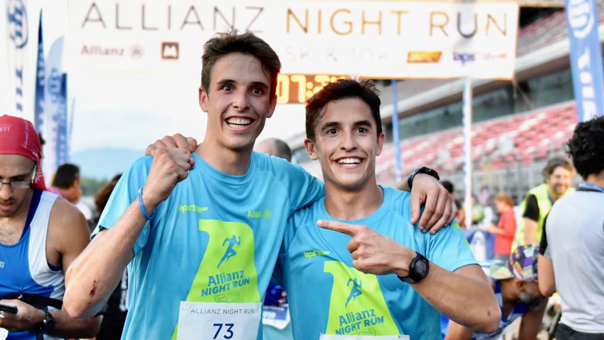 Circuito Night Run : La ii allianz night run recauda euros a favor de aldeas