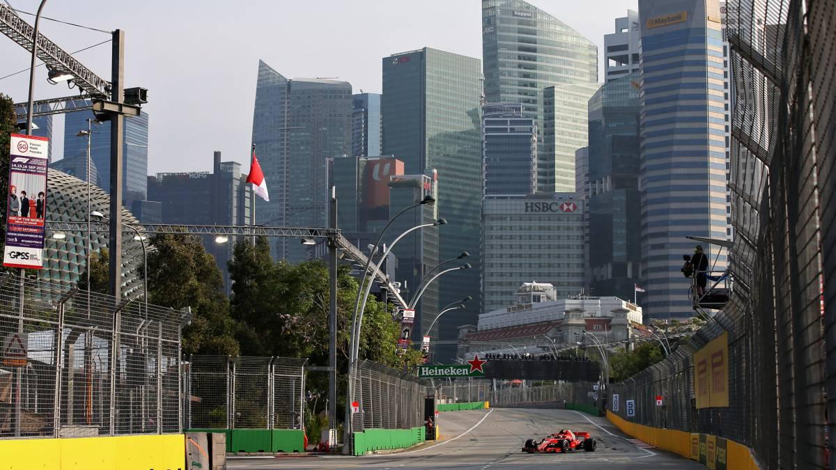 Circuito Singapur : F1 gp de singapur en marina bay: tv horario y dónde ver online as.com