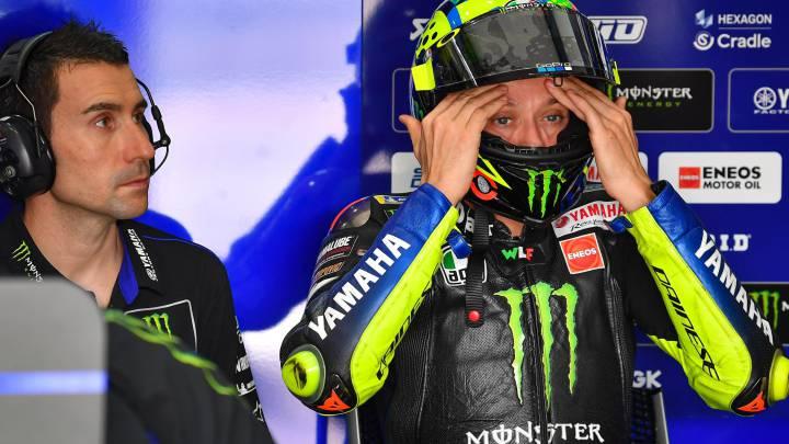 """Rossi quiere """"continuar"""" hasta 2021 y retirarse compitiendo"""