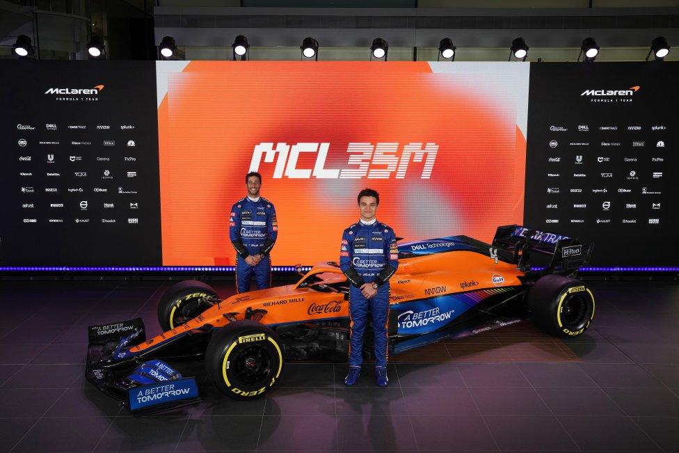 Daniel Ricciardo y Lando Norris